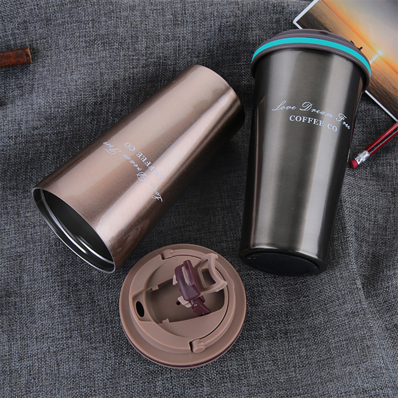 Creative Gift Stainless Steel Vacuum Thermos Tea Coffee Mug Cup with Custom Logo
