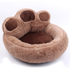 New Arrival Pet Supplies Bear Paw Shape Soft Breathable Dog Cat Puppy Sofa, Hot Sale Pet Bed