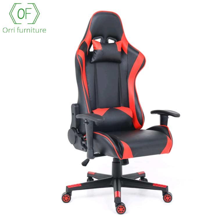 Orri мебель высокое качество фабрики Китая регулируемый подлокотник игровой гоночный стул