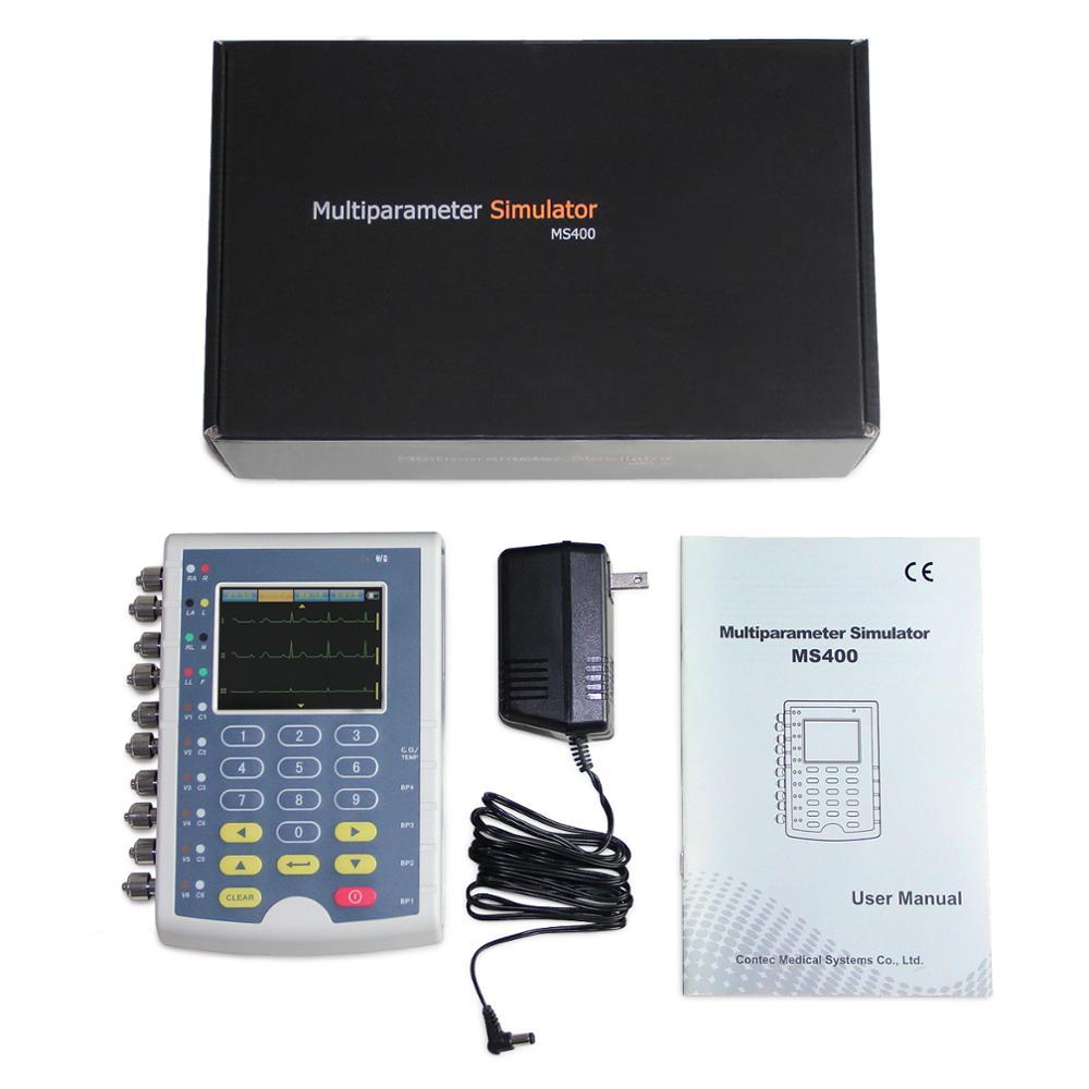 "CE MS400 צבע TFT מסך אק""ג מטופל סימולטור Simulator"