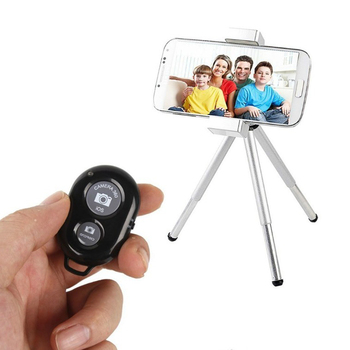 High quality Button Wireless Controller Self-Timer Camera Stick Shutter Release Phone Bluetooths Remote Control