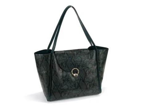 New fashion PU  Leather Design Shopper Bag Handbags for Women