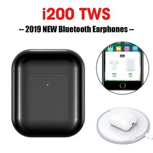 hot  selling amazon  5.0 i200 tws wireless headphone earphones factory Price Mobile Phone Headset Earphones Wireless Earbuds