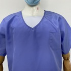 Uniform New Fabric Reusable Waterproof Medical Scrubs For Hospital Uniform