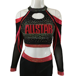 OEM custom youth cheerleader custom cheer costume uniforms