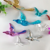 Golden & Sliver acrylic hanging decor hummingbird birds ceiling ornament pendant for wedding Christmas tree decorations