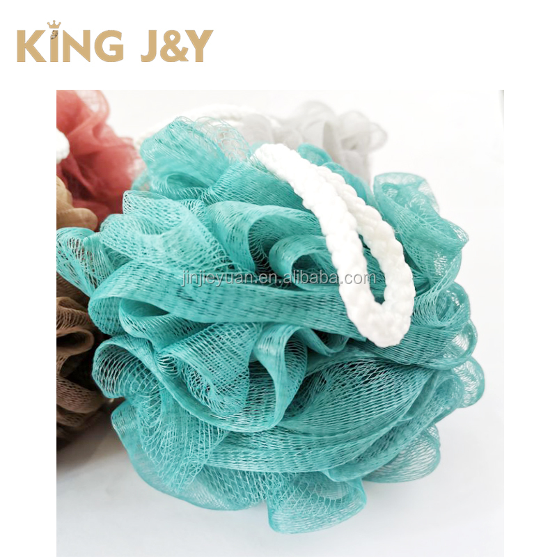 Loofah net sponge,5 inch bath shower sponge