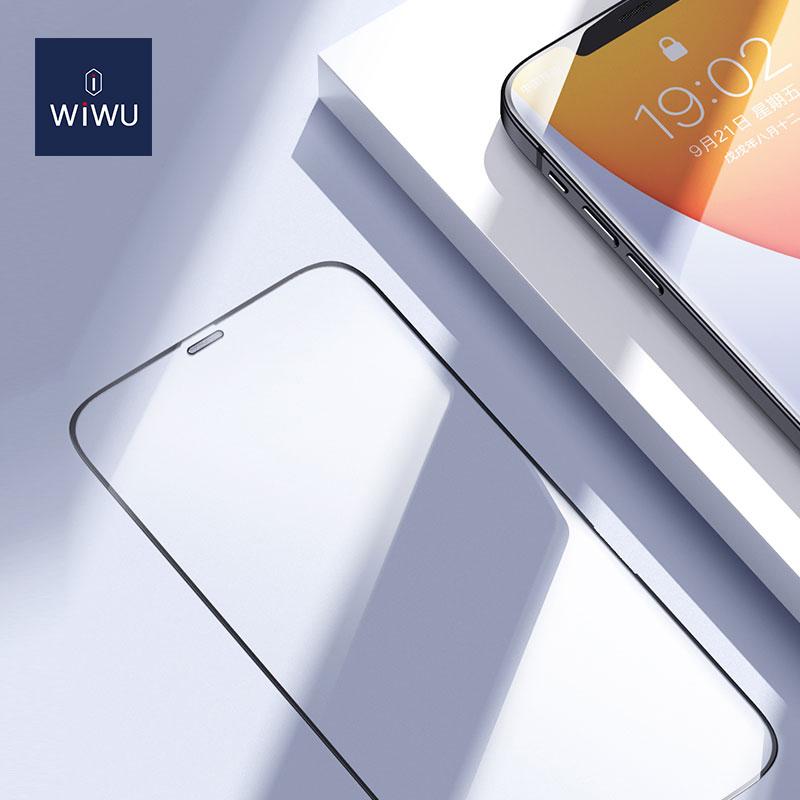 WiWU 2.5D 窄边 丝印 钢化膜 iPhone12 (https://www.wiwu.net.cn/) 手机 壳 膜 第5张