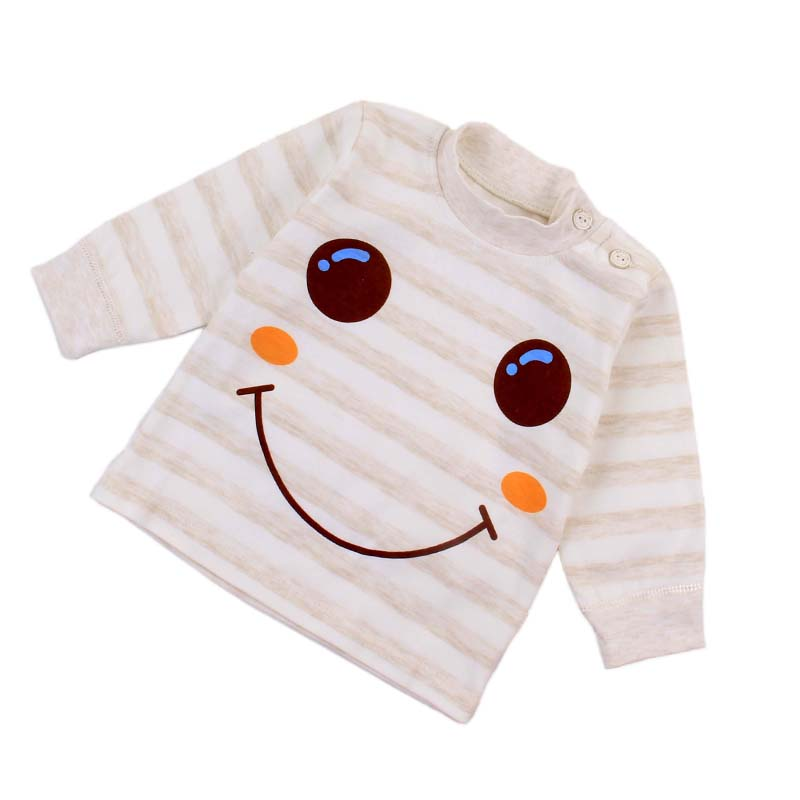 Baby clothing brand wholesale new design baby underwear in spring, summer and autumn 0-3-year-old baby Pajama cotton children
