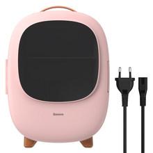 Автомобильный мини-холодильник Baseus 8L, портативный холодильник с морозильной камерой и нагревателем, компрессор для быстрого охлаждения дл...(Китай)