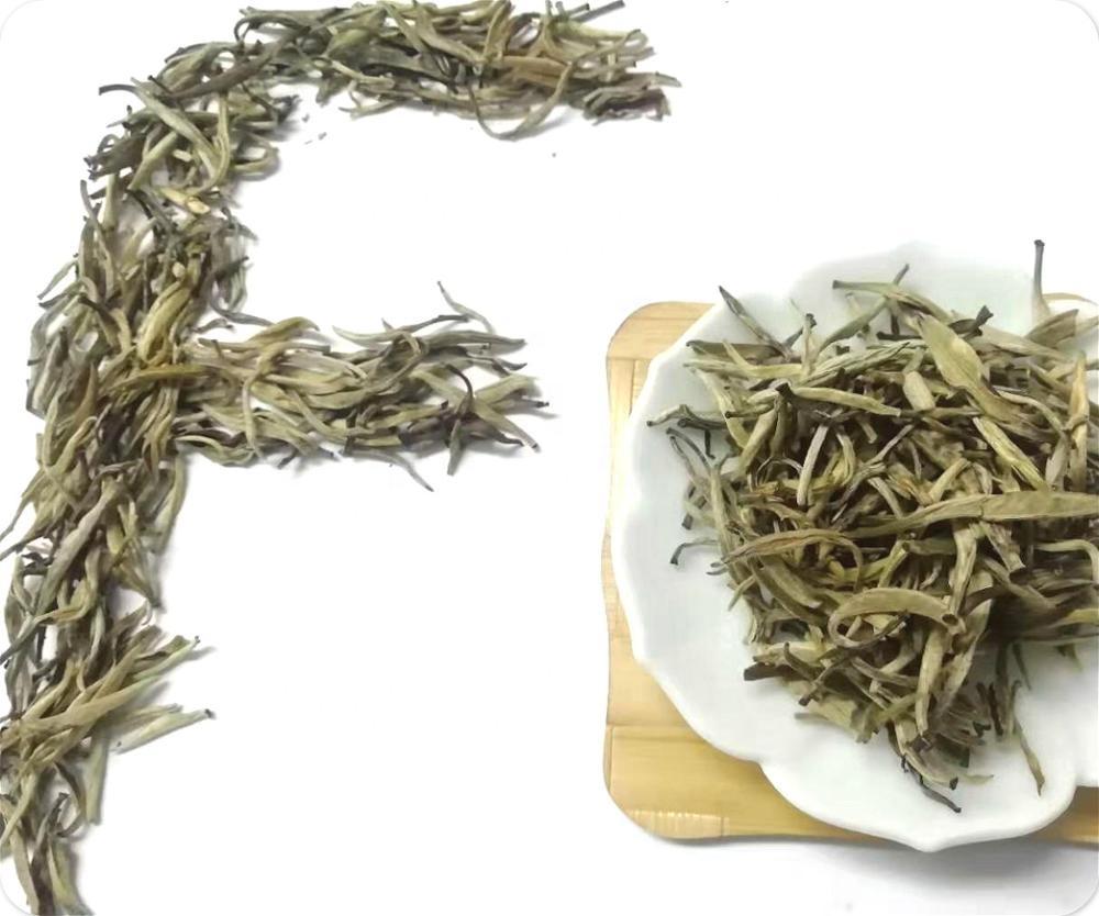 Jasmine Silver Needle high quality Chinese Organic Pure Fresh Dried Silver Needle Jasmine Loose Leaves Leaf - 4uTea   4uTea.com