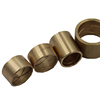 Powder metallurgy sintered bushing part self lubricated bronze bushing flanging bronze bushing