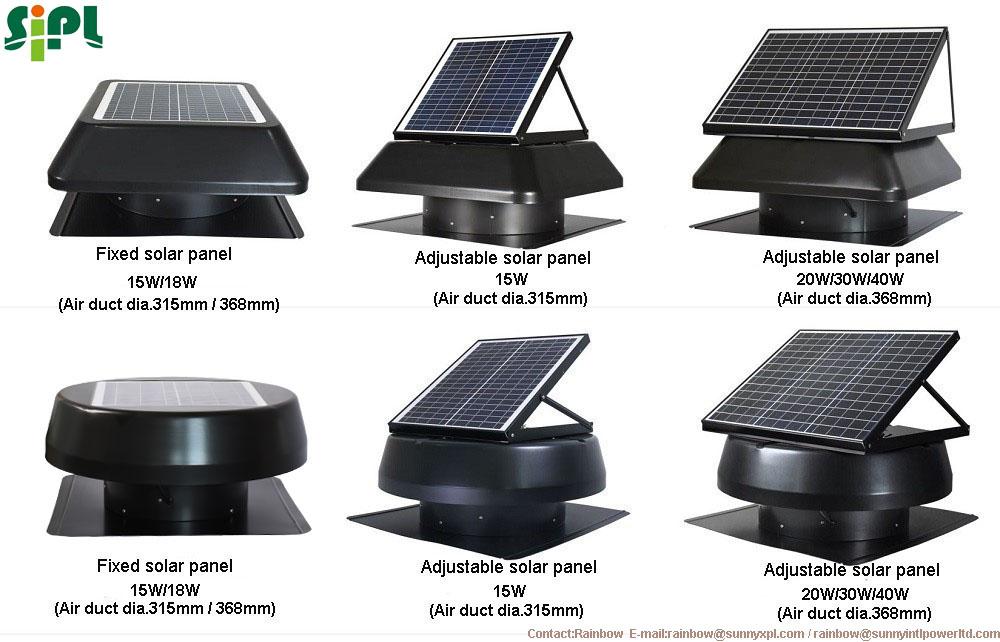 Vent Tool Eco Solar Roof Ventilator Low Watt Ventilation