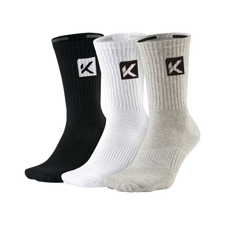 custom embroidered socks black wholesale oem woven logo mens socks design crew white cotton custom bamboo sport socks for man