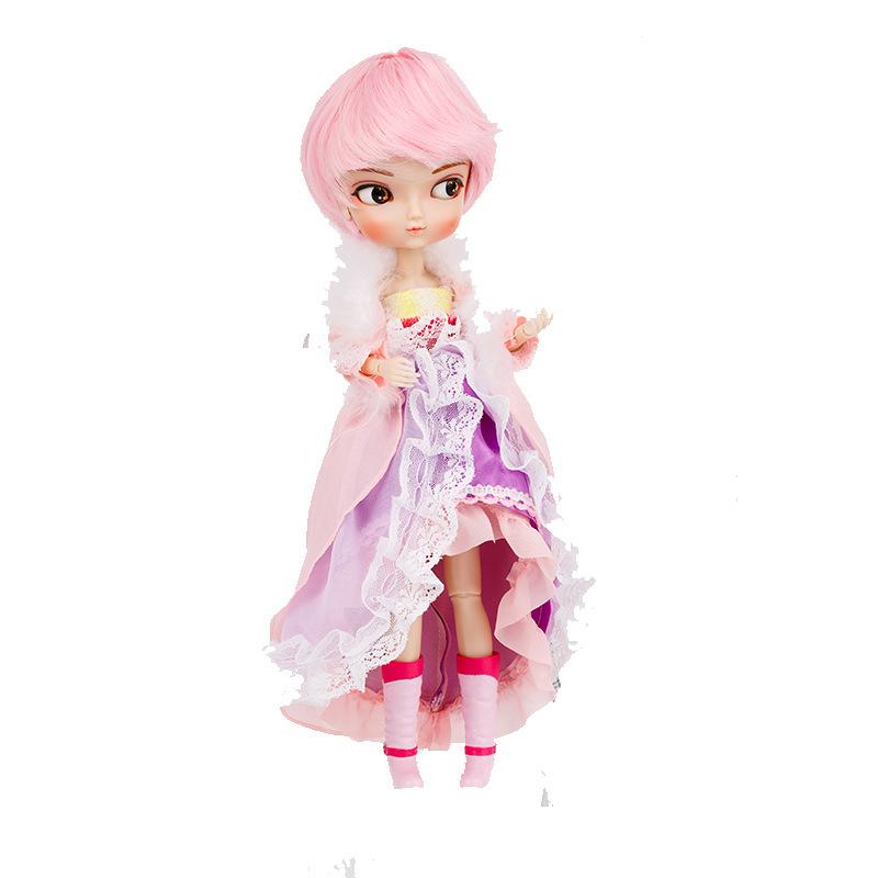 Высококачественная новая шарнирная кукла, моделирование, кукла Лори, 35 см, игрушка для девочек, сделай сам, туалетный Макияж, детский подаро...(Китай)