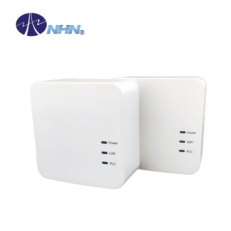 500Mbps Powerline Adapter Wireless Extender Kit PLC Power Line <strong>Communication</strong>