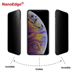 Nano Privacy Anti Spying TPU Full Curved Screen Film For iPhone 11 Screen Protector