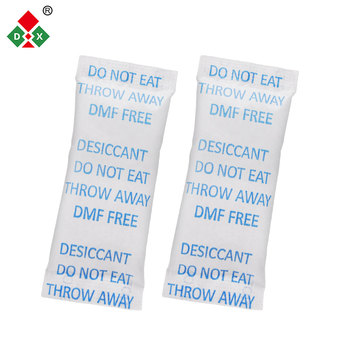 high purity silica gel desiccant 1g/2g/3g/5g/10g/12g/15g/18g/20g sachet for food