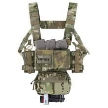 1 шт Krydex MK3 Тактический нагрудный крюк тактический жилет на открытом воздухе Военная тактика аксессуары-MC(Китай)