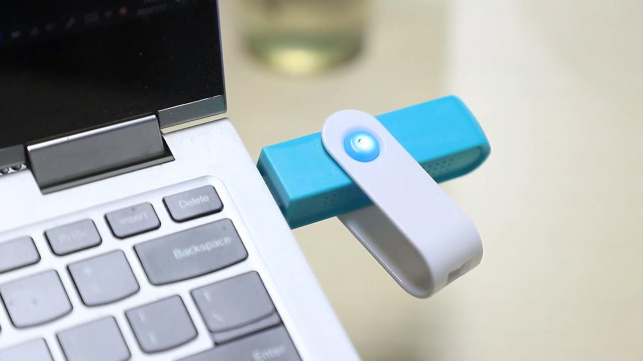 JO-723 Unique Translucent Design Negative Ion USB Air Purifier