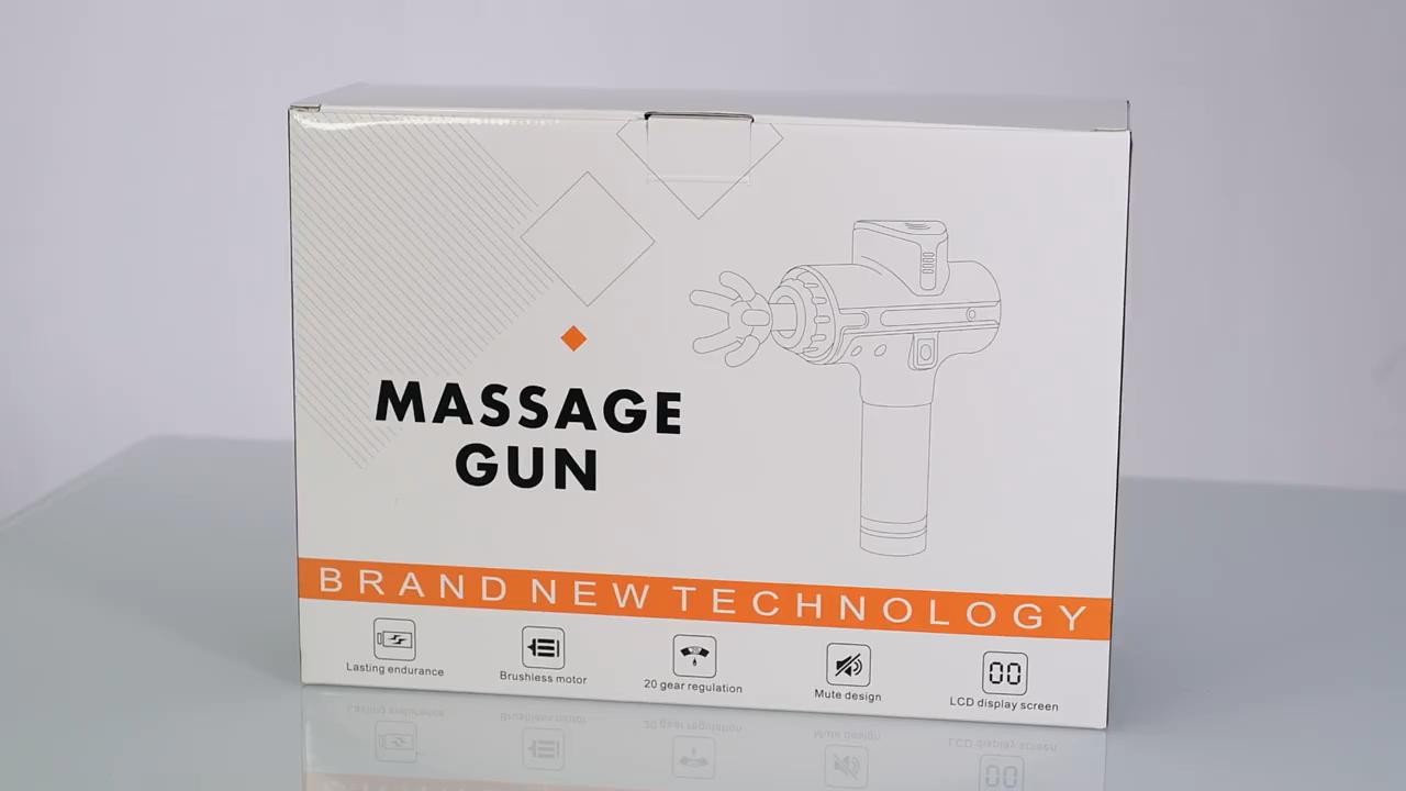 2020 Nâng Cấp Massage Điện Body Massage Máy Không Dây Rung Fascia Massage Súng Mô Sâu Cá Nhân Massager Cho Cơ Thể Đầy Đủ