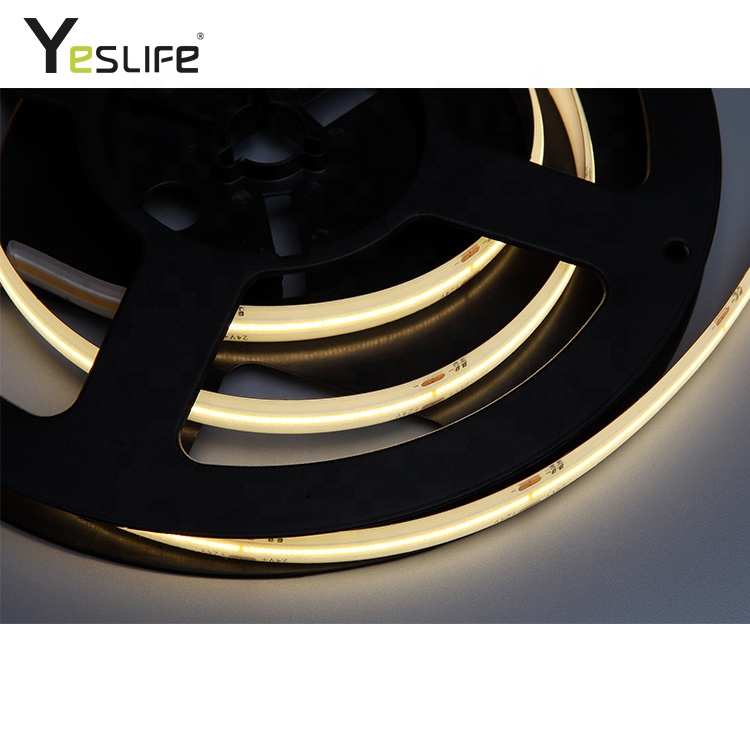 Ip62 Waterproof Flexible Rgb / Warm White Flip Chip Led Strip Light