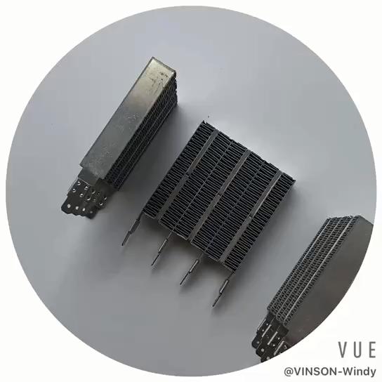Высокое качество 220v 70x70x15 мм PTC изолированный нагреватель воздуха на дизельном топливе, запчасти для кондиционера PTC нагревательный элемент