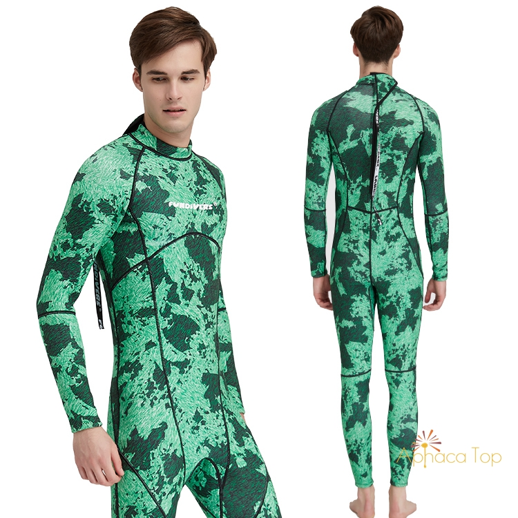 Hot Sale YAMAMOTO Mens Camo Neoprene Wet Sut 3MM Scuba diving Suit