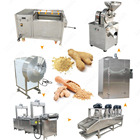Best Price Ginger Washing Peeling Drying Processing Ginger Powder Grinding Machine