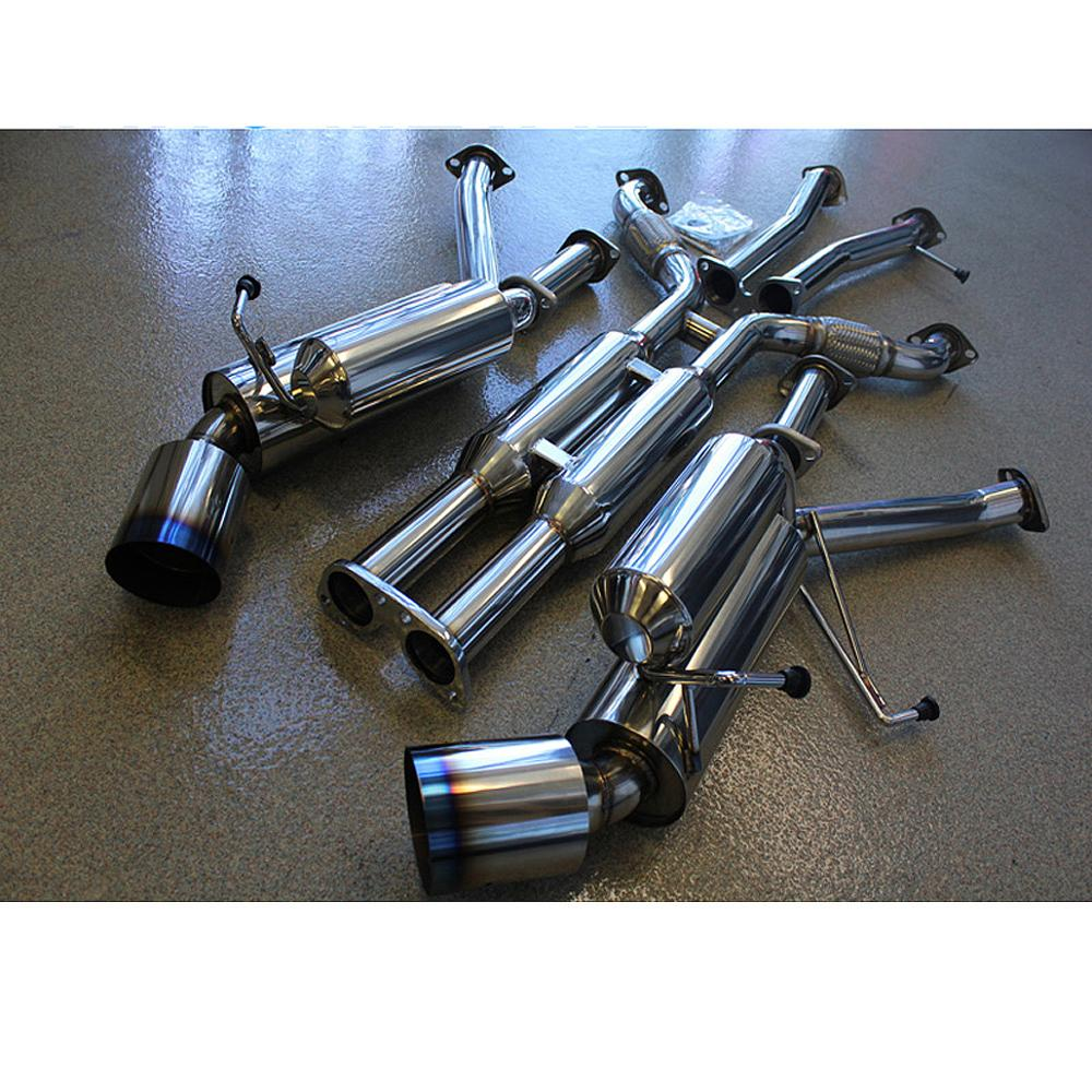High quality factory dual exhaust