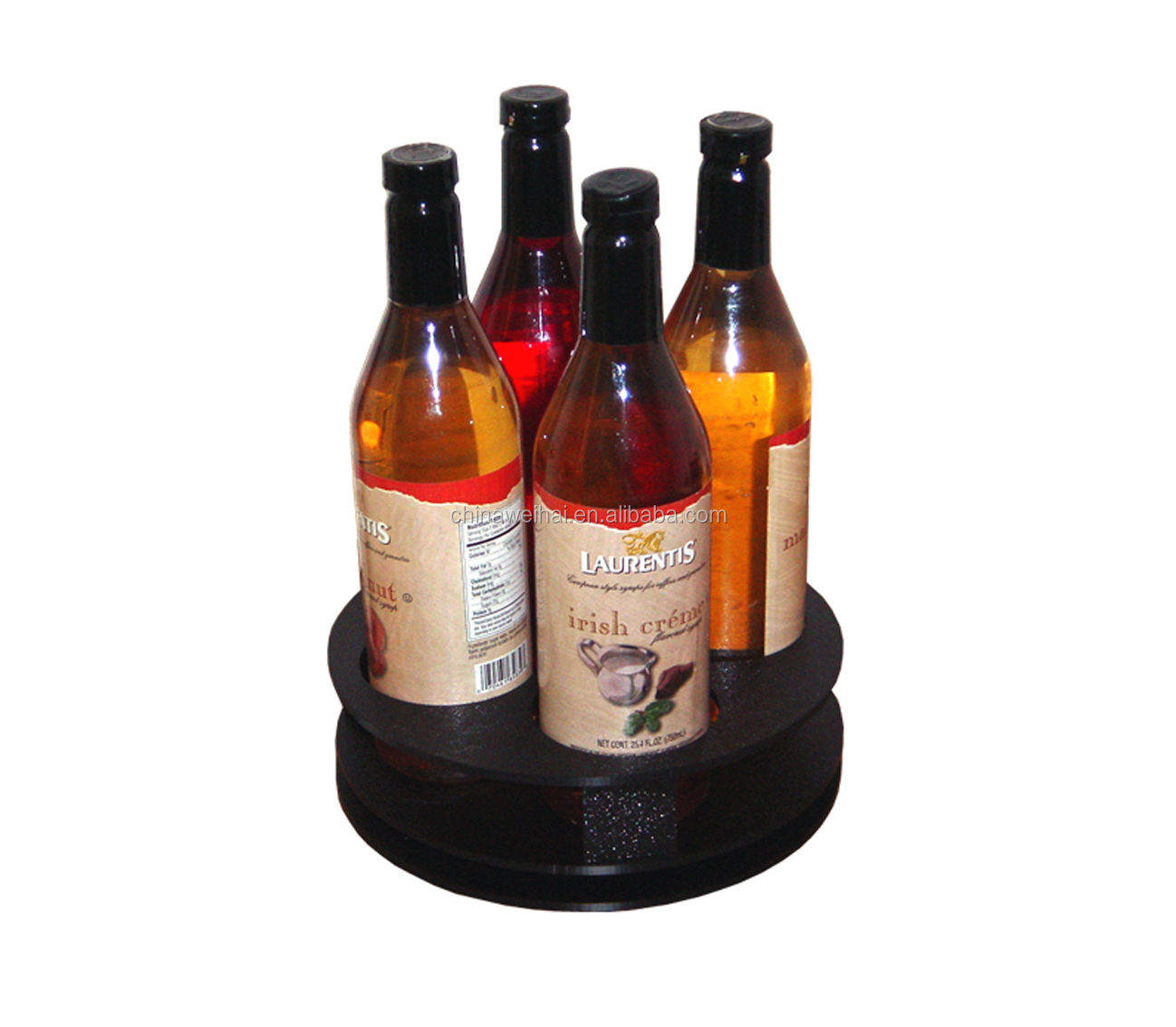 Clear  Acrylic Syrup Display Stand