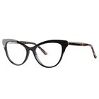 2646 Fashion cat eye ladies women acetate spectacles eyeglasses