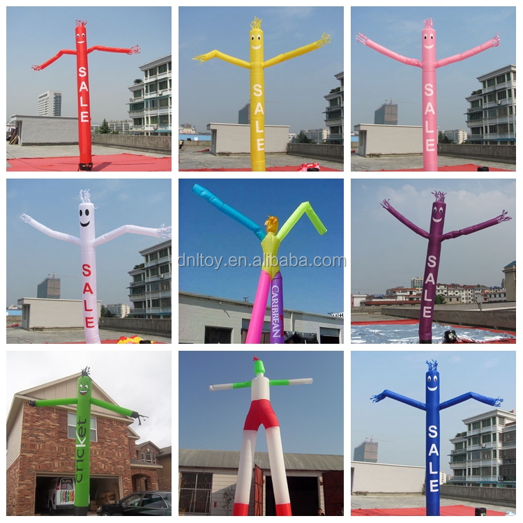 Inflatable lighting air dancer,inflatable light tube,inflatable light column