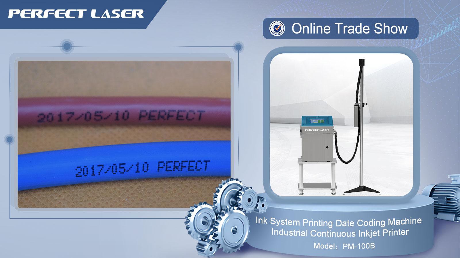 Laser-caja de cartón Industrial continuo chino impresora de inyección de tinta/caso codificador/caja fecha de caducidad de la máquina de impresión