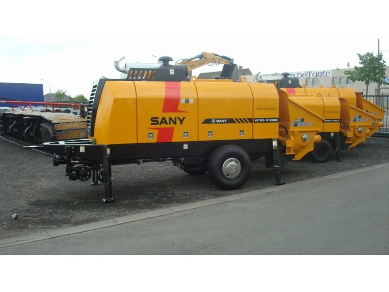 Conception professionnelle De Haute Qualité HBT80 ciment pompe moussante machine