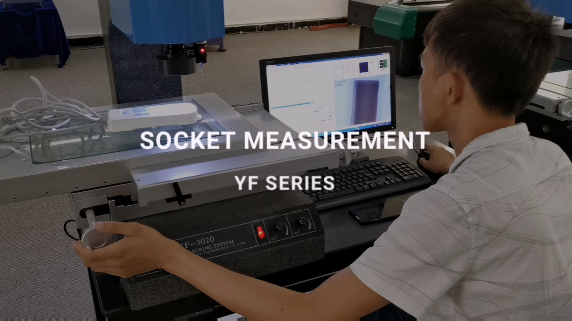 Система 3D зонда видения, ручная оптическая измерительная машина
