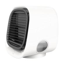 Вентилятор для охлаждения воздуха, настольный мини-кондиционер с ночным светильник, мини USB вентилятор для охлаждения воды, очиститель для ...(Китай)