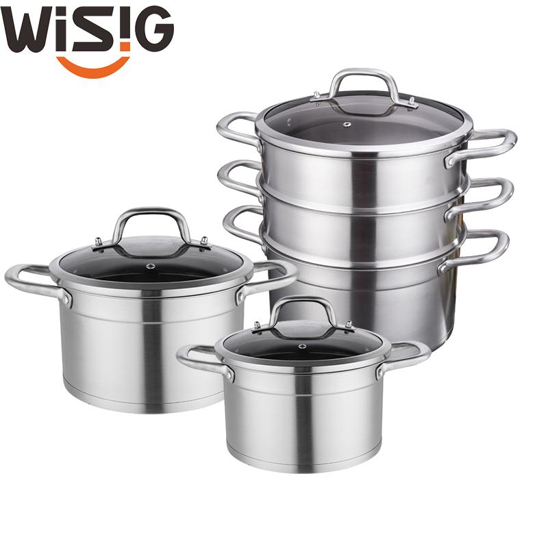 Venta al por mayor ollas de acero inox Compre online los