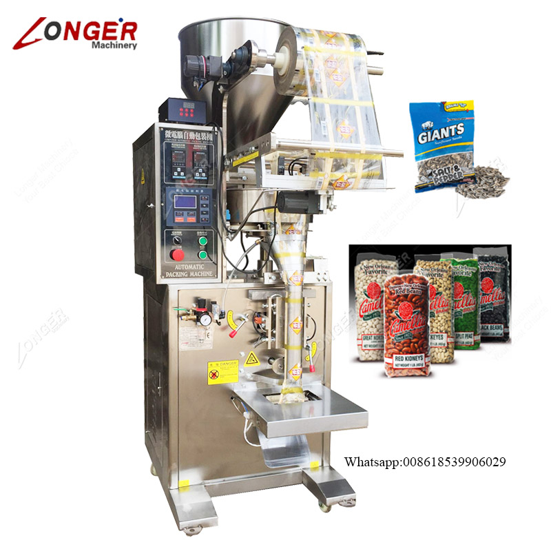 Automatic Chocolate Beans Packing Machine Snacks Bag Making and Packing Machine