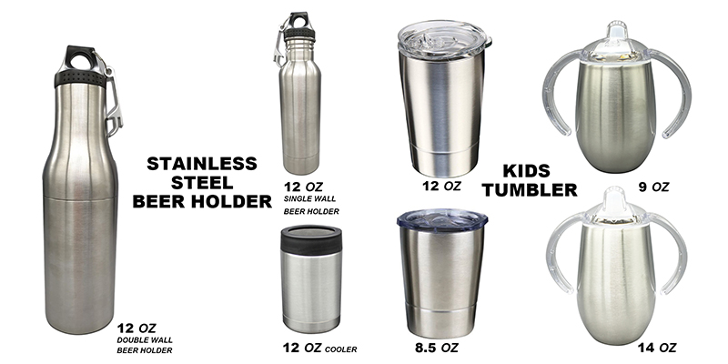 9oz Double Wall Sippy Stainless Steel Cup With Handles