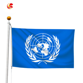 High quality Custom United Nations flag UN Flag