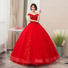 Королевское синее пышное платье, платье для выпускного вечера 2020, бальное платье с открытыми плечами, кружевные аппликации, бальное платье, ...(Китай)