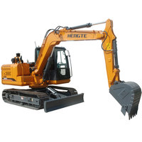 factory sale brand new 9 ton backhoe bucket heavy construction equipment hydraulic bucket crawler excavator for sale