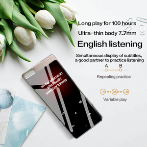 HIFI Bluetooth MP3 Player 1.8 Inch Screen Lossless Music Player Walkman With Voice Recorder For Sale