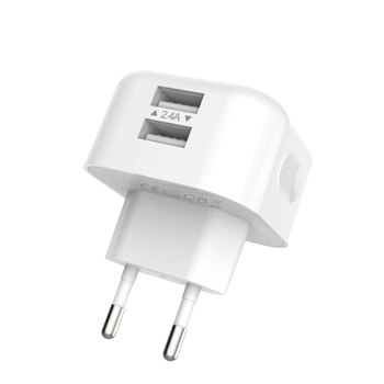 Dual USB multi Wall fast Charger 2.4a wall charger Travel Charger