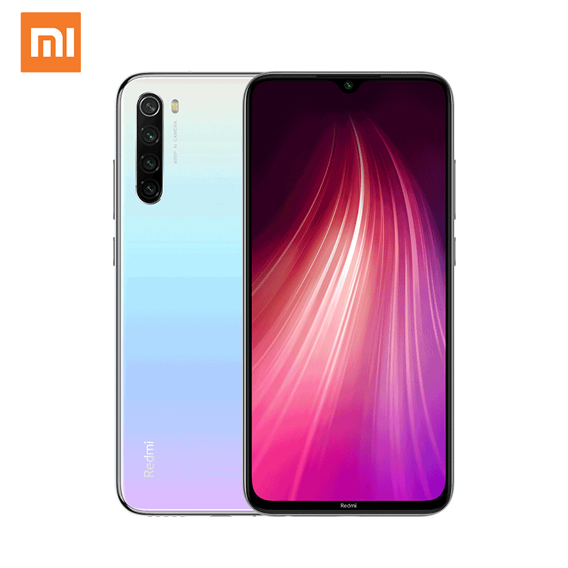 Глобальная версия Xiaomi Redmi Note 8, 4 Гб 64 ГБ, док-станция Qualcomm Snapdragon 665 4000 мАч мобильный телефон