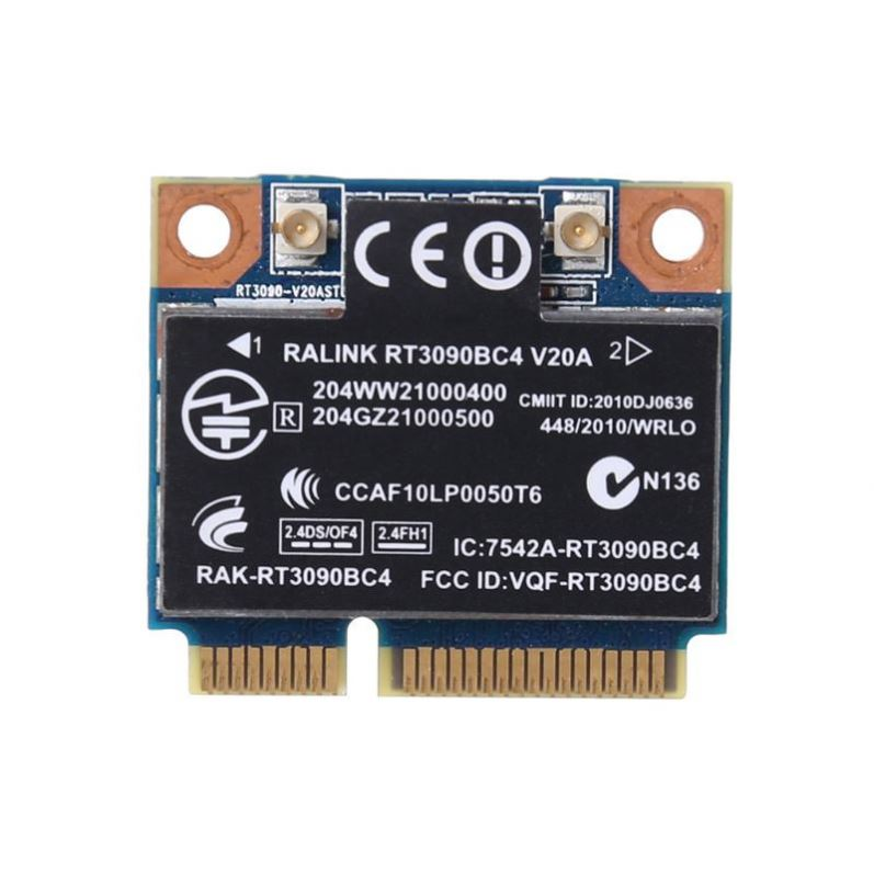 Wireless Adapter Card for Ralink Rt3090bc4 N Ble 3.0 Pci-e 300m 602992-001 For Hp Wifi Card 300mbps Internal