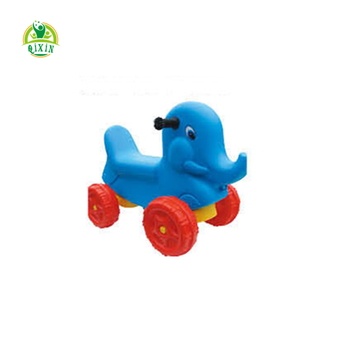Children plastic horse mini rider