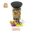 4g tattoo bubble gum 100 pieces in jar