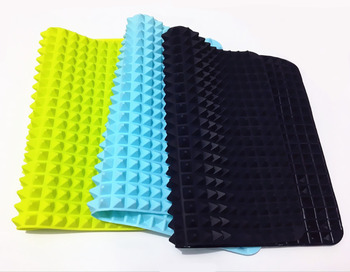 40x27cm Pyramid Bakeware Pan 4 color Nonstick Silicone Baking Mats Pads Moulds Cooking Mat Oven Baking Tray Sheet